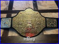 WWE/WCW World Heavyweight Championship Adult Replica Belt (Metal Plates)