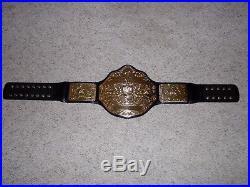WWE WORLD HEAVYWEIGHT CHAMPIONSHIP 2004 METAL ADULT SIZE REPLICA TITLE BELT wcw