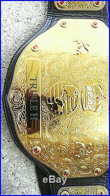 Wwe World Heavyweight Championship Big Gold Belt Adult, Metal Plates. Triple H