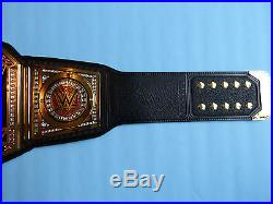 WWE WORLD HEAVYWEIGHT CHAMPIONSHIP COMMEMORATIVE TITLE BELT BRAND NEW WITH BAG