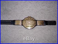 WWE WORLD HEAVYWEIGHT CHAMPIONSHIP METAL ADULT SIZE REPLICA TITLE BELT raw wcw