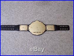 WWE WORLD HEAVYWEIGHT CHAMPIONSHIP METAL ADULT SIZE REPLICA TITLE BELT wcw HBK