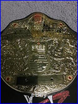 WWE WORLD HEAVYWEIGHT CHAMPIONSHIP REPLICA WRESTLING BELT WWF WWE TNA AEW Wcw