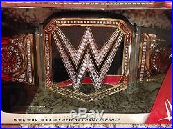 Wwe World Heavyweight Championship Title Belt Adult Full Size Replica Aj Styles