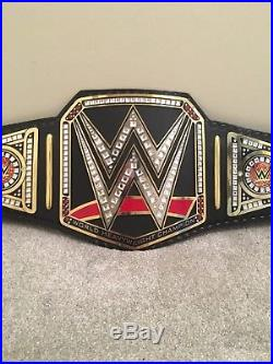 WWE WORLD HEAVYWEIGHT championship replica Leather Belt Plus Carry Case