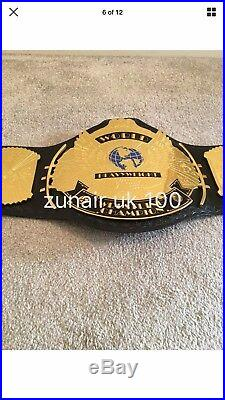 WWE WWF 4MM Replica Winged Eagle Championship Title Belt 4mm plates free case