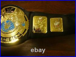 WWE WWF AUTHENTIC BIG EAGLE ATTITUDE ERA REPLICA CHAMPIONSHIP TITLE BELT WithBAG