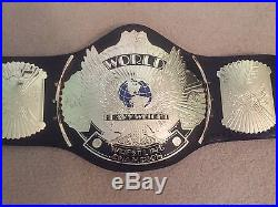 WWE WWF AUTHENTIC REPLICA Championship Belt Winged Eagle Adult Size