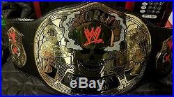 WWE WWF Adult Replica Smoking Skull World HeavyWeight Championship Belt