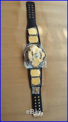 WWE/WWF Classic Gold Winged Eagle Championship Belt Brass Plated Adult Size