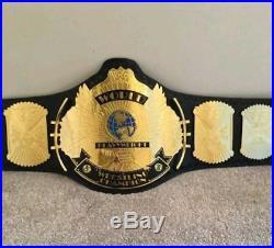 WWE WWF Classic gold Winged eagle championship replica belt adult size