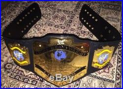 WWE/WWF Deluxe Light Heavyweight Championship Replica Belt