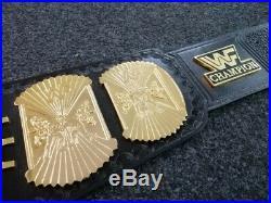 WWE WWF Gold Winged Eagle Championship Belt Replica Adult Size Hulk Hogan