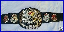 WWE WWF Heavyweight Championship Belt Leather Belt