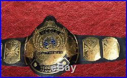 WWE & WWF Heavyweight Championship Winged Eagle Leather Belt