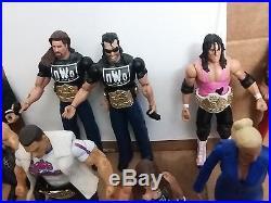 WWE WWF LOT B Action Figures Divas WWE Championship Title Belts & Accessories