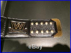 Wwe Wwf Releathered Intercontinental Championship Replica Wrestling Belt