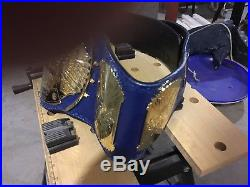 WWE/WWF Releathered/ Autographed Championship Belt Figures Ink Romeo Leather HBK