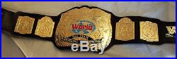 WWE/ WWF Tag Team Championship Belt Leather with 4MM Plates