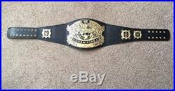 WWE WWF Undisputed Championship Replica Deluxe 4mm Belt