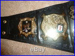 WWE WWF Undisputed Championship Replica Wrestling Title Belt Adult Size