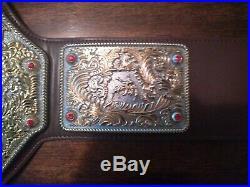 WWE WWF WCW Big Gold World Heavyweigh Championship Replica Belt Fandu
