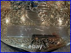 WWE WWF WCW World Heavyweight Commemorative Championship Belt Figures Toy Co