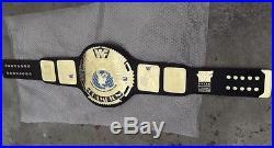 Wwe Wwf World Heavy Weight Championship Leather Belt