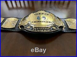 WWE / WWF Winged Eagle championship belt Autograhed By Bret Hart & Razor Ramon