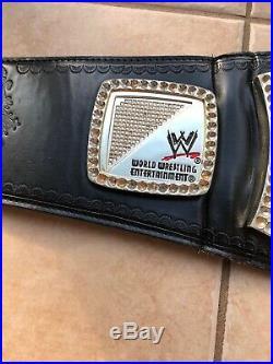 WWE WWF World Heavyweight Championship Spinner Replica Title Belt 2011 Adult