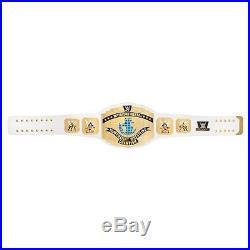 WWE White Intercontinental Championship Commemorative Title Belt 100% Authentic
