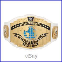 WWE White Intercontinental Championship Commemorative Title Belt (2014)