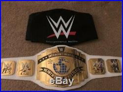 WWE White Intercontinental Championship Replica Title Belt