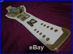 WWE White Intercontinental Championship Title Belt Replica