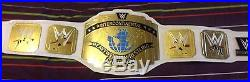 WWE White Intercontinental Championship adult replica Title Belt with free box