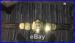 WWE Winged Eagle Championship Replica Belt Wwf Signed Autographed Withcoa Bret Sgt