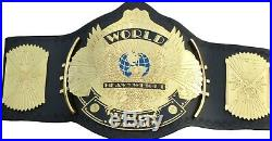 WWE Winged Eagle Championship Replica Title Belt Leather Zinc / Brass 2mm / 4mm