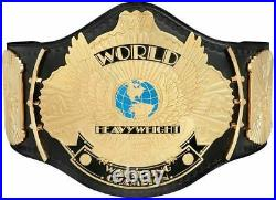 WWE Winged Eagle Championship Wrestling Replica Title Leather Belt 2mm 4mm WWF
