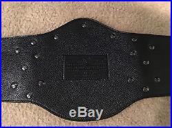 WWE Winged Eagle World Heavyweight Championship Adult Replica Metal Plates Belt