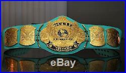 WWE Winged Eagle World Heavyweight Championship Replica Blue Belt Title Warrior