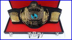 WWE Winged Eagle Wrestling Championship Adult Size Metal Replica Belt With Case