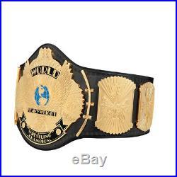 WWE Winged eagle Championship Wrestling Replica Title Belt 100 % geniune