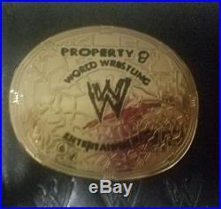 WWE Women's Championship replica title belt 2002-2010 retired