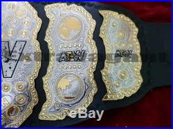 WWE World AEW Heavyweight Wrestling Championship Belt Adult. Size Copy