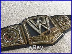 WWE World Championship Scratch Big Logo Adult Replica Belt