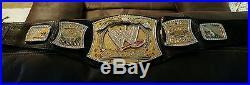 WWE World Championship Spinner Belt adult size metal not plastic