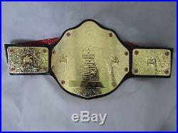 WWE World Heavy Weight Championship Belt (Big Gold). (adult size)