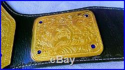 WWE World Heavyweight Big Gold Championship Leather Belt Adult Size Replica
