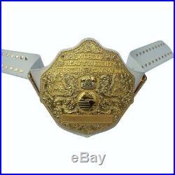 WWE World Heavyweight Big Gold Championship replica brass metal belt wwf wcw