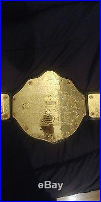 WWE World Heavyweight Championship Adult Deluxe Replica Belt